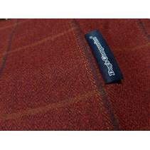 Hoes hondenbed Scottish Tweed Red