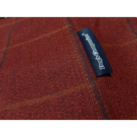 Dog's Companion® Hoes hondenbed Scottish Tweed Red Small