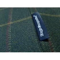 Hoes hondenbed Scottish Tweed Green