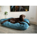 Dog's Companion® Hondenbed Petrol giant ribcord