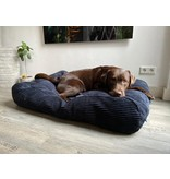 Dog's Companion® Hoes hondenbed Midnight Blue giant ribcord