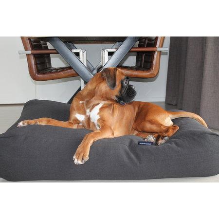 Dog's Companion® Hondenbed Black Smoke meubelstof
