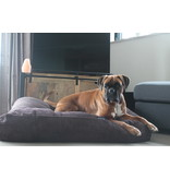 Dog's Companion® Hondenbed Espresso giant ribcord