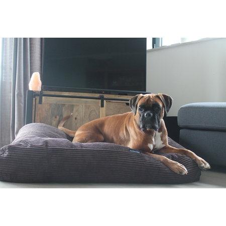 Dog's Companion® Hoes hondenbed Espresso giant ribcord