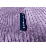 Dog's Companion® Hoes hondenbed Lavendel giant ribcord