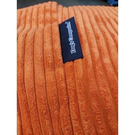 Dog's Companion® Hoes hondenbed Oranje giant ribcord
