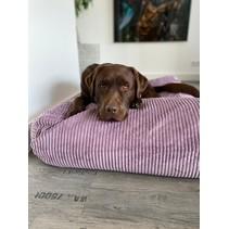 Hondenbed Lavendel giant ribcord