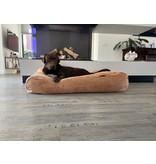 Dog's Companion® Hondenbed Camel giant ribcord