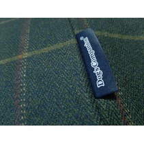Hoes hondenbed Scottish Tweed Green Small