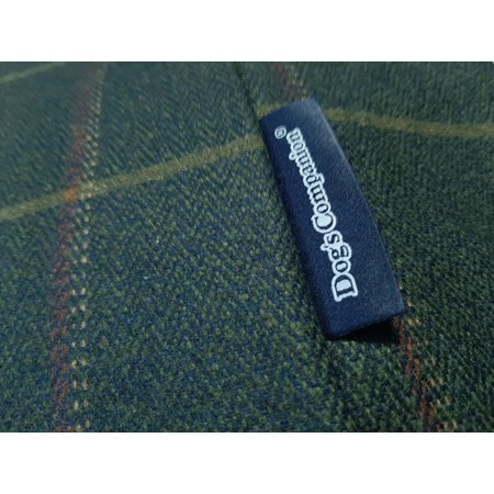 Dog's Companion® Hoes hondenbed Scottish Tweed Green Small
