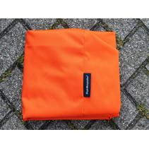 Hoes hondenbed Oranje coating