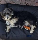 Dog's Companion® Hondenbed zwart leather look medium