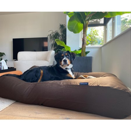Dog's Companion® Hoes hondenbed chocolade bruin