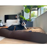 Dog's Companion® Hoes hondenbed chocolade bruin small