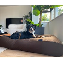 Hondenkussen chocolade bruin large