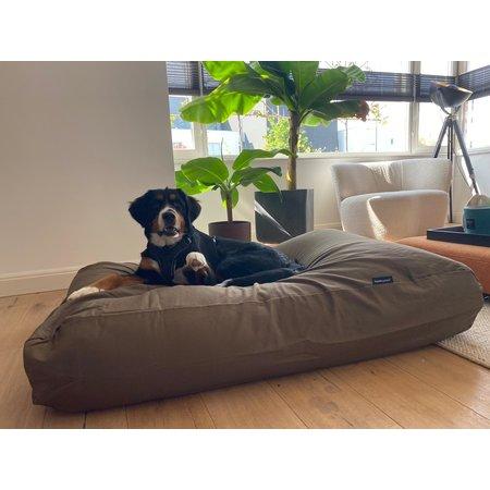 Dog's Companion® Hondenkussen taupe/bruin medium