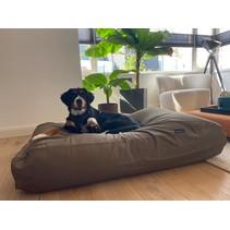 Hondenkussen taupe/bruin large