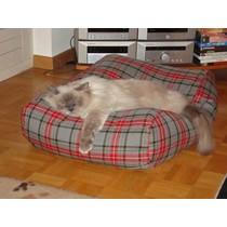 Kattenkussen scottish grey 55 x 45 cm