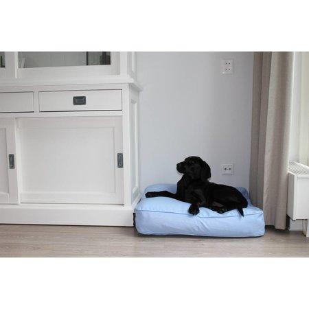 Dog's Companion® Benchkussen 68 x 62 x 10 cm lichtblauw