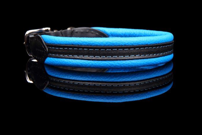 Leren hondenhalsband soft/duo