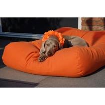 Hondenkussen oranje