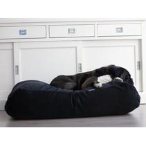 Hondenbed zwart ribcord