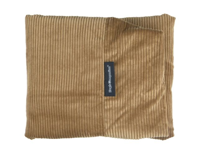 Dog's Companion® Hoes hondenbed camel ribcord