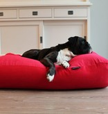 Dog's Companion® Hondenbed rood ribcord medium