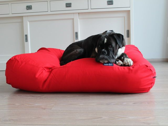 Dogs Companion® Hondenbed rood small