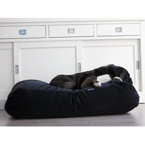 Hondenbed zwart ribcord extra small