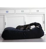 Dog's Companion® Hondenbed zwart ribcord medium