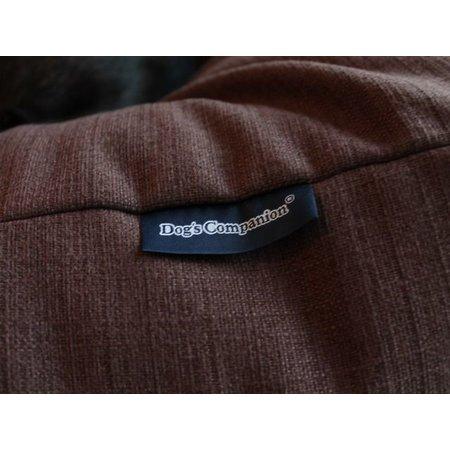 Dog's Companion® Hondenbed chocolade bruin (meubelstof)