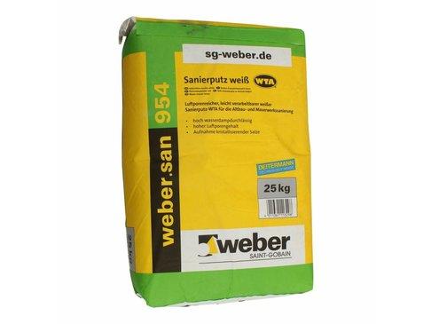 Weber.san 954 stucmortel 25 kg