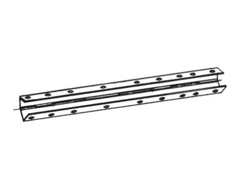 Bekistingelement Scharnierhoek 9,5 x 9,5 x 150 cm verzinkt zonder spangat