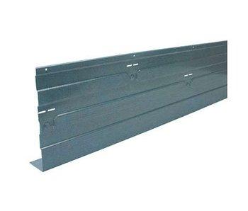Randbekisting staal 2 m - Vloerhoogte 160 mm