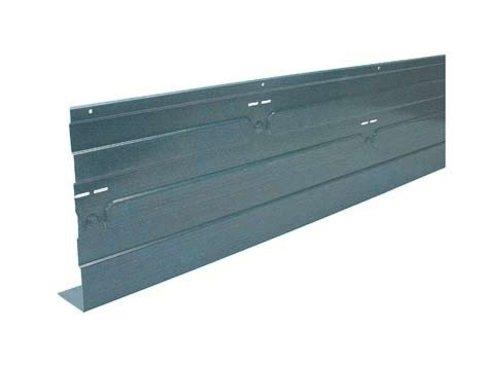 Randbekisting staal 2 m - Vloerhoogte 180 mm
