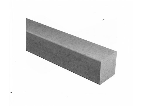 Vezelbetonstrip vierkant 1000x50x50 mm
