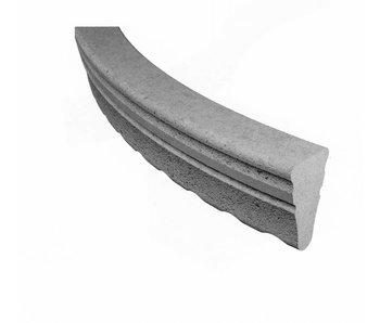 Vezelbetonboog BB Driehoek 33 centimeter, dekking 25 mm