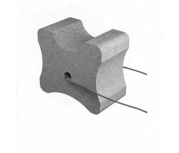 Vezelbetonvorm BKD, dekking 20+25+30 mm