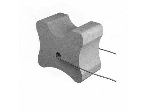 Vezelbetonvorm BKD, dekking 45+55+60 mm