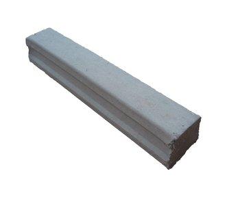 Vezelbetonstelrib 230 mm, dekking = 35 mm