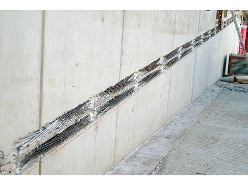 STABOX Stekkenbak 10-150 Dubbel 125 cm  Bak = 15 cm Stekh = 12 cm Stekl = 30 cm