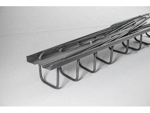 STABOX Stekkenbak 12-150 Enkel 125 cm  Bak = 7 cm Stekh = 17 cm Stekl = 39 cm
