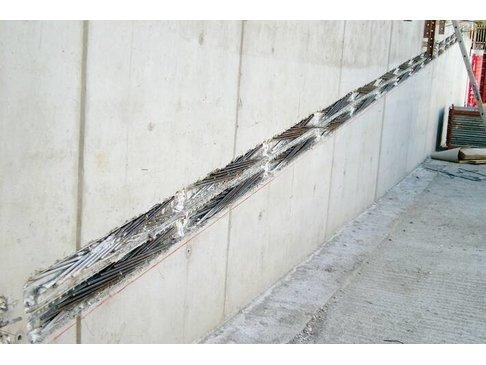 STABOX Stekkenbak 8-150 Dubbel 125 cm  Bak = 15 cm Stekh = 12 cm Stekl = 26 cm