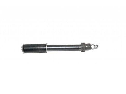 Injectienippel metaal 75mm x 8mm