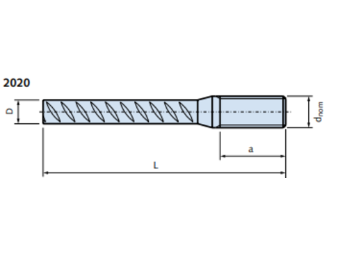 DEMU 2020 M24X1280 STEKEIND