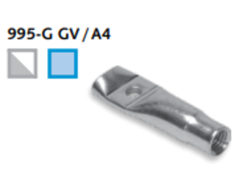 DEMU 995 M12x70 SCHROEFHULS             MET GAT