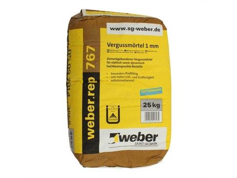 GIETMORTEL 1mm WEBER.TEC 767