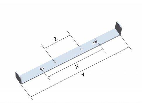 Funderingsstrips - Wanddikte 600 mm