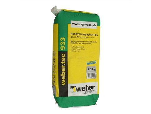 Weber.tec 933 Minerale uitvlakmortel Snelwerkend